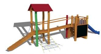 Aire de jeux en bois sur mesure - Devis sur Techni-Contact.com - 2
