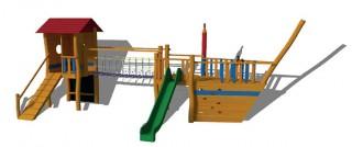 Aire de jeux en bois sur mesure - Devis sur Techni-Contact.com - 6