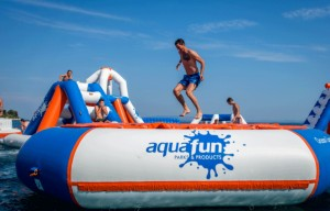 Aire de jeux gonflable aquatique 30 personnes - Devis sur Techni-Contact.com - 4