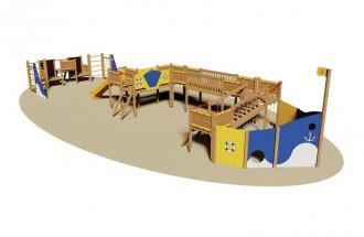 Aire de jeux pour enfants - Devis sur Techni-Contact.com - 1