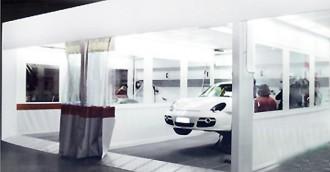 Aire de préparation carrosserie automobile - Devis sur Techni-Contact.com - 1
