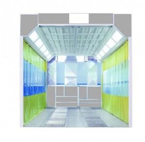 Aire de préparation carrosserie peinture a basse pression - Devis sur Techni-Contact.com - 1