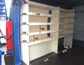 Aménagement en bois pour Nissan NV400 - Devis sur Techni-Contact.com - 6