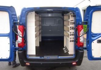 Aménagement en bois pour Nissan NV400 - Devis sur Techni-Contact.com - 8
