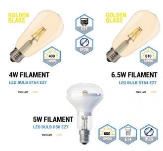 Ampoule LED filament - Devis sur Techni-Contact.com - 2