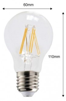 Ampoule led filament standard - Devis sur Techni-Contact.com - 2