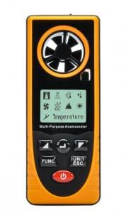 Anémomètre portable polyvalent à affichage LCD - Devis sur Techni-Contact.com - 1