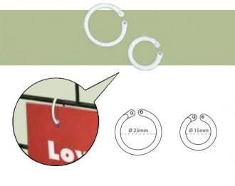 Anneau rond en plastique - Devis sur Techni-Contact.com - 1