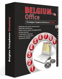 Annuaire CD-Rom Belgique Infobel Belgium - Devis sur Techni-Contact.com - 1