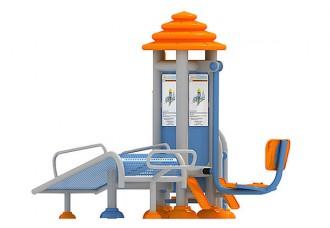 Appareil de fitness extérieur 3 en 1 - Devis sur Techni-Contact.com - 2
