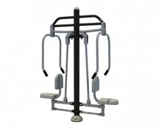 Appareil de fitness extérieur pectoraux - Devis sur Techni-Contact.com - 1