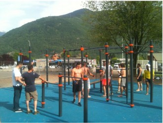 Aire de street workout - Devis sur Techni-Contact.com - 6