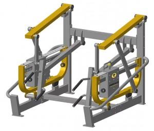 Appareil musculation du dos outdoor en acier - Devis sur Techni-Contact.com - 1