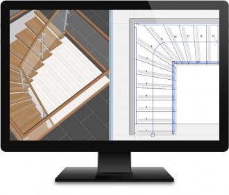 Application bureautique conception escaliers - Devis sur Techni-Contact.com - 1