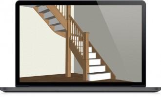 Application bureautique conception escaliers - Devis sur Techni-Contact.com - 2