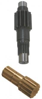 Arbres et manchons cannelés DIN 5481 - Devis sur Techni-Contact.com - 1