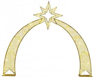 Arche dorée LED - Devis sur Techni-Contact.com - 1