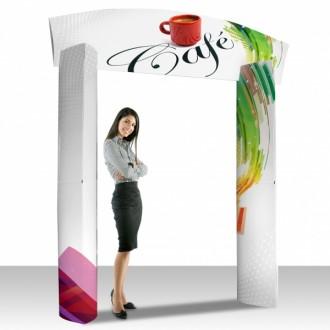 Arche publicitaire carton - Devis sur Techni-Contact.com - 1