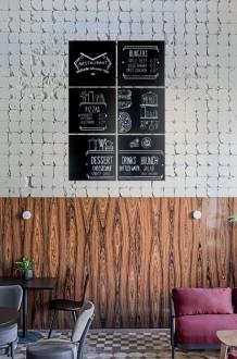 Ardoise auto-adhésive murale - Devis sur Techni-Contact.com - 2