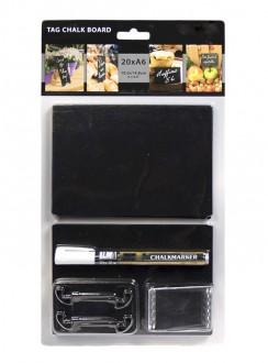 Ardoise de table en acrylique noire - Devis sur Techni-Contact.com - 3