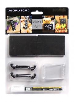 Ardoise de table en acrylique noire - Devis sur Techni-Contact.com - 4