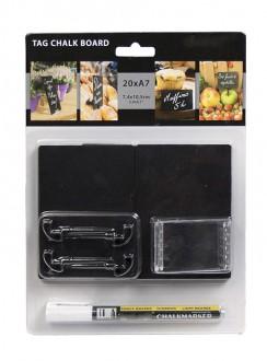Ardoise de table en acrylique noire - Devis sur Techni-Contact.com - 5