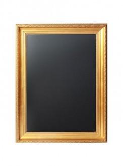 Ardoise menu avec un cadre doré - Devis sur Techni-Contact.com - 3