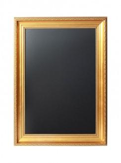 Ardoise menu avec un cadre doré - Devis sur Techni-Contact.com - 6