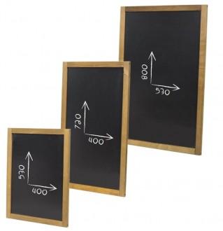 Ardoise menu murale de restaurant - Devis sur Techni-Contact.com - 1