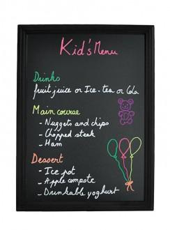 Ardoise menu murale en bois - Devis sur Techni-Contact.com - 6
