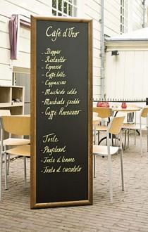 Ardoise menu restaurant murale - Devis sur Techni-Contact.com - 1