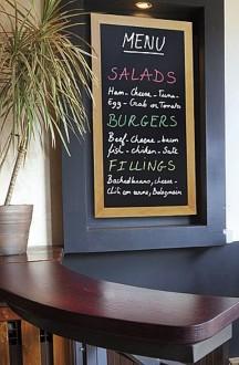 Ardoise menu restaurant murale - Devis sur Techni-Contact.com - 2