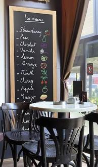 Ardoise menu restaurant murale - Devis sur Techni-Contact.com - 3
