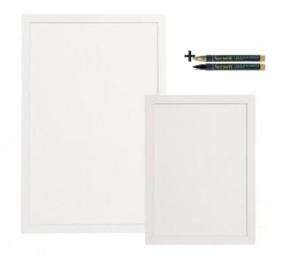 Ardoise murale blanche double face - Devis sur Techni-Contact.com - 1