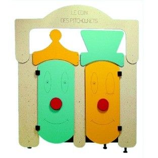 Armature toilettes maternelles - Devis sur Techni-Contact.com - 1