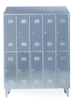 Armoire à casiers en acier pour industrie - Devis sur Techni-Contact.com - 1