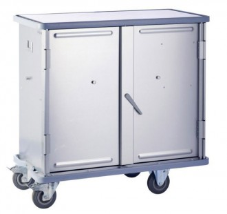 Armoire à linge à roues - Devis sur Techni-Contact.com - 3