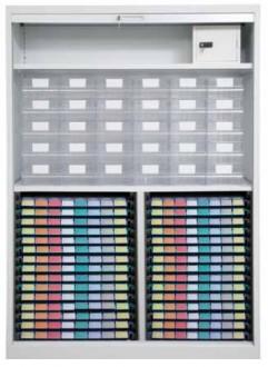 Armoire à médicaments avec rideau - Devis sur Techni-Contact.com - 2