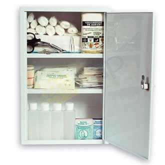 Armoire à pharmacie 1 porte en métal - Devis sur Techni-Contact.com - 1