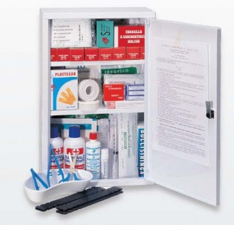 Armoire à pharmacie à 3 compartiments - Devis sur Techni-Contact.com - 1