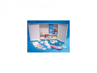 Armoire à pharmacie en ABS 2 portes - Devis sur Techni-Contact.com - 1