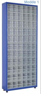 Armoire à tiroirs plastique de taille unique - Devis sur Techni-Contact.com - 1