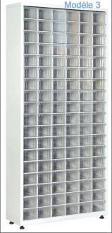 Armoire à tiroirs plastique de taille unique - Devis sur Techni-Contact.com - 3