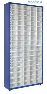 Armoire à tiroirs plastique de taille unique - Devis sur Techni-Contact.com - 4