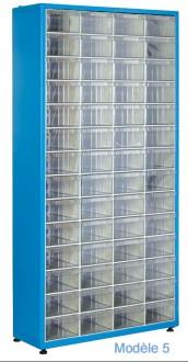 Armoire à tiroirs plastique de taille unique - Devis sur Techni-Contact.com - 5