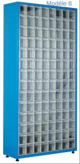 Armoire à tiroirs plastique de taille unique - Devis sur Techni-Contact.com - 6