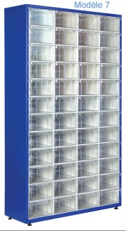 Armoire à tiroirs plastique de taille unique - Devis sur Techni-Contact.com - 7