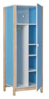Armoire chambre 1 porte - Devis sur Techni-Contact.com - 1