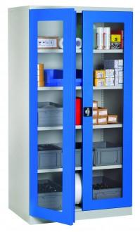 Armoire d'atelier à portes transparentes - Devis sur Techni-Contact.com - 1
