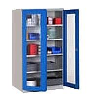 Armoire d'atelier à portes transparentes - Devis sur Techni-Contact.com - 2
